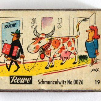 Спички Rewe Schmuntzelwitz №0026 Германия