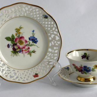 Чашка блюдце тарелка фарфор №3 Schumann Germany