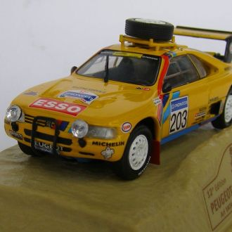Peugeot 405 turbo 16 1990 Paris-Dakar  1:43  Norev