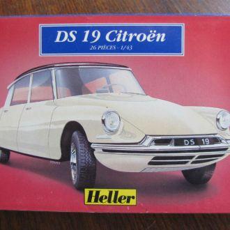 Citroen DS19 кит №80162 Heller