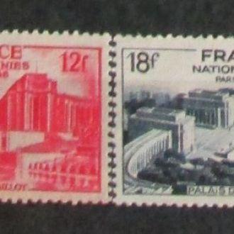 Франция архитектура 1948