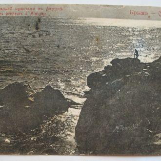 Крым ( Крим )  гашение  1910 г