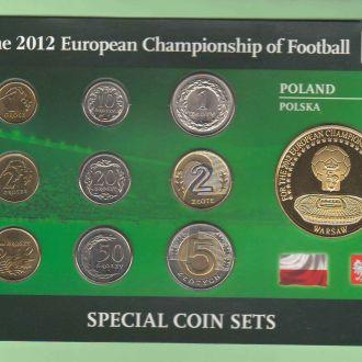 Набор ПОЛЬША  ЕВРО - 2012  ФУТБОЛ  пластик  картон