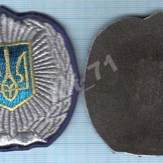 Нашивка. Кокарда МВД Украины. Милиция. МВС.