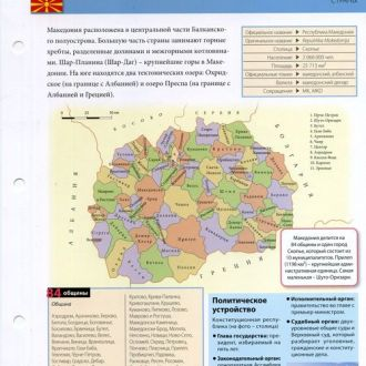 Карточка - Македония