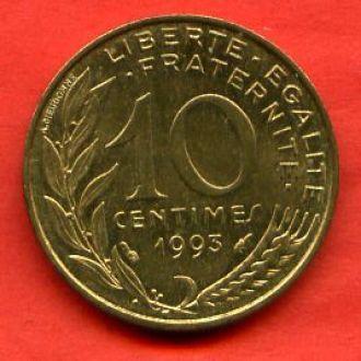 10 сантимов 1993