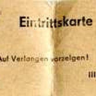 Входной билет. Германия #2