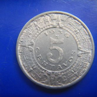 Мексика 5 сентаво 1936 M