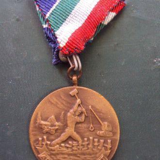 медаль за борьбу с наводнением Венгрия