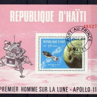 Гаити Космос Спутники Планеты Очень Редкий Блок