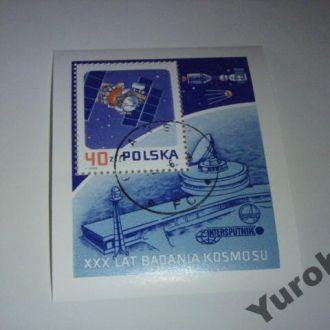 Польша Космос Планеты Спутники Ракеты Блок