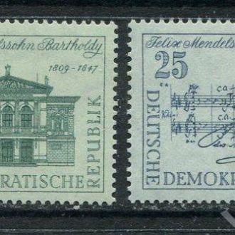 ГДР 1959 г. Серия * Музыка