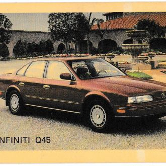 Календарик 1993 Пресса, Авто