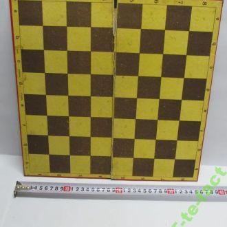 Доска шахматно - шашечная. СССР.