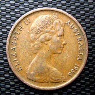 Австралия 1 цент 1966 год