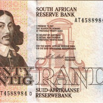 Южная Африка / ЮАР 20 RAND 1982-85 гг аUNC