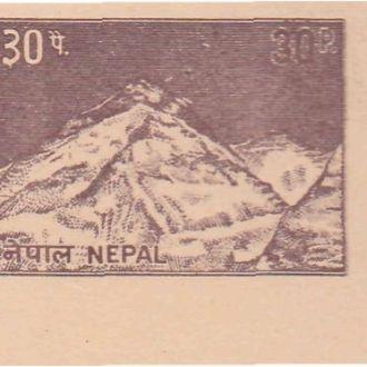 Непал 1980-е ДИКАЯ ПРИРОДА ГОРЫ ЭВЕРЕСТ ГОРНАЯ ВЕРШИНА Чистая ПК с ОМ**