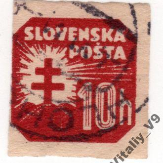 Словакия P23 N1 10h henna brown
