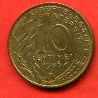 10 сантимов 1986