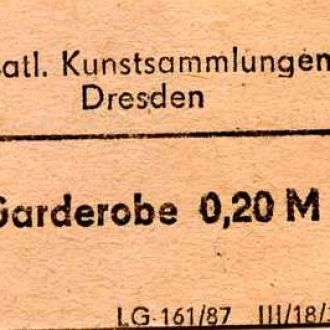 Государственная художественная Дрезденская галерея