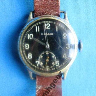 Часы наручные трофейные HELMA. Швейцария.