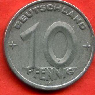 10 пфенигов 1949 A