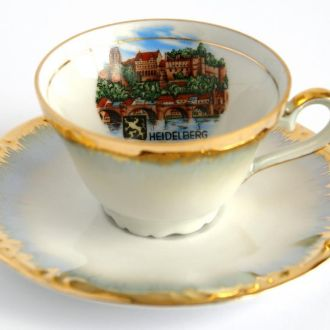 Эспрессо чашка+блюдце Heidelberg 1960-e Germany