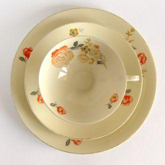 Чашка блюдце тарелка Arzberg 1937 г.  MY11 Germany
