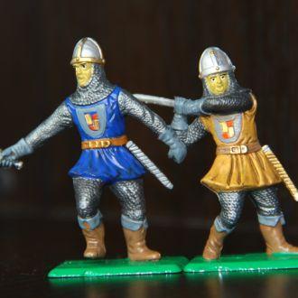рыцари  DULCOP  55-60мм (цветные)