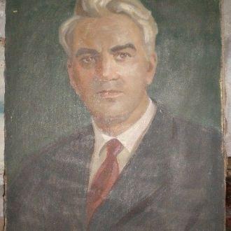 Картина Портрет Соцреализм N-1