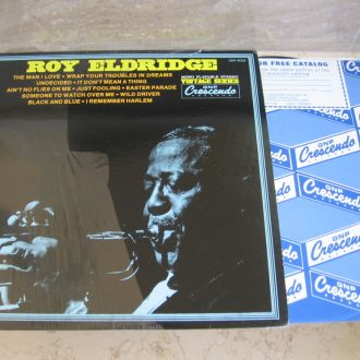 Roy Eldridge  :  (US GNP 9009 ) JAZZ LP