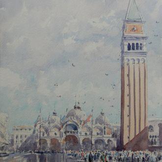 """Картина """"Венеция, с.Св. Марка"""" Микитенко"""