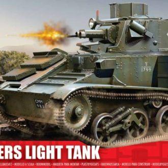 Британский легкий танк Виккерс -1/76 - Airfix02330