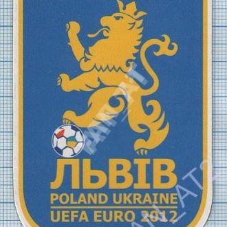 Магнит UEFA EURO 2012. Футбол. Львов. Украина