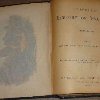 Джон Кэссель.   История Англии. Т1. 1902