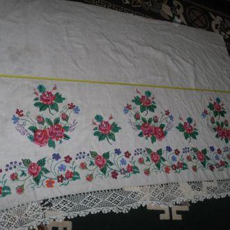 домоткане простирадло простинь вишивка (№551)