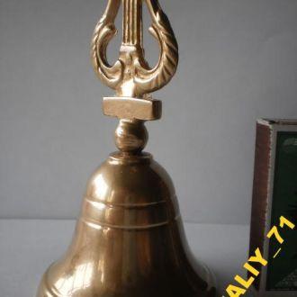 Рідкісний старовинний дзвіночок. Колокольчик. Ліра. Дуже дзвінкий та голосний. Привезено з Німеччини