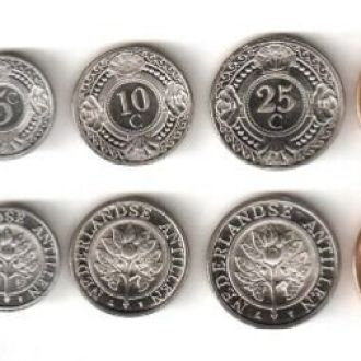 Netherlands Antilles/Антилы -набор 5 монет 2005-10