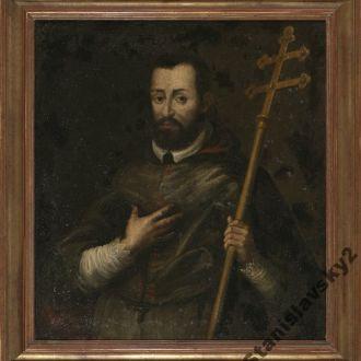 Портрет епископа. Первая половина 17-го века