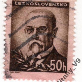 Чехословакия 301 A108 50h brown