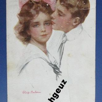 Ghelip Boileau. His First Love. Их первая любовь.