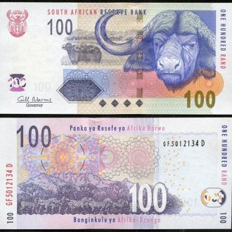 SOUTH AFRICA / Южная Африка - 100 Rands 2009 - UNC