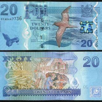 Fiji / Фиджи - 20 Dollars 2013 - UNC - OLM