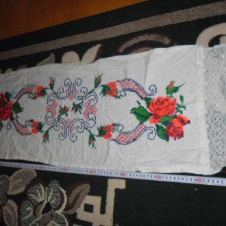 вишитий рушник серветка салфетка дорiжка