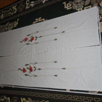 штори вишитi вишивка шторы (№472)