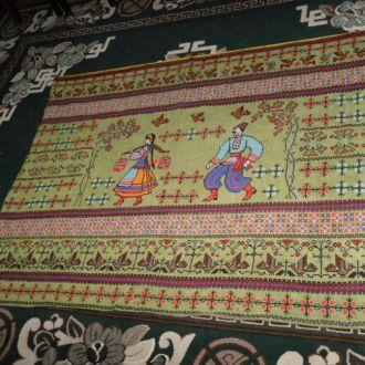 вишитий килим ковер несе галя воду редкий (№640)