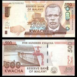 Malawi / Малави - 500 Kwacha 2014 - UNC - OLM