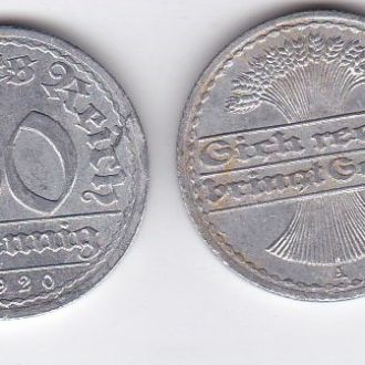 Germany Германия - 50 Pfennig 1920 -A VF JavirNV