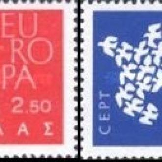 Греция 1961 Европа Септ птицы ** о