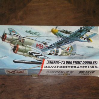 Airfix Beaufighter & Me 109G.6 1:72